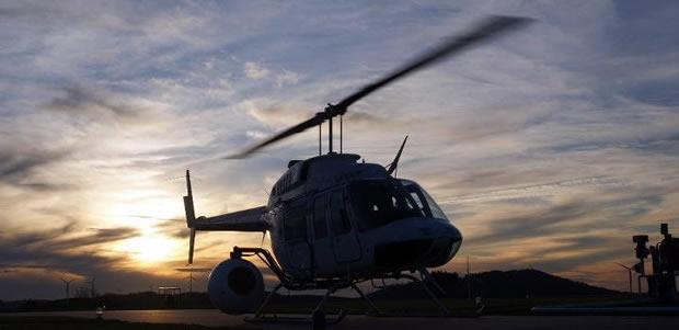 Filmagens de Helicóptero