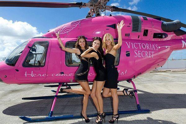 helicoptero victoria secret