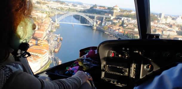 Passeio de Helicóptero, Porto